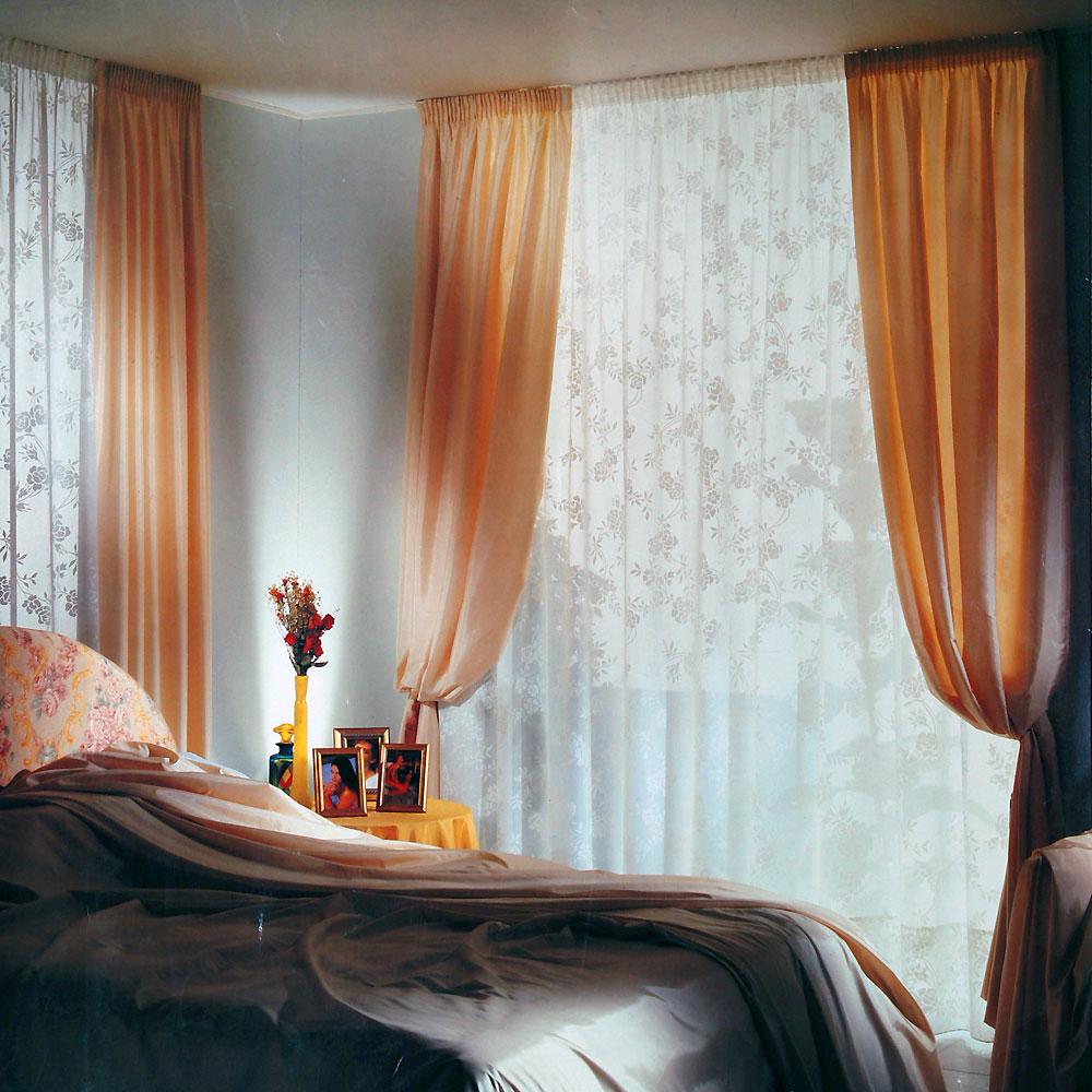 Tende per soggiorno stile modernotende soggiorno tortora : tende ...